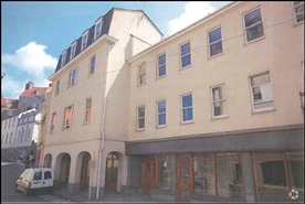 1,876 SF High Street Shop for Rent  |  Tower Hill House, Guernsey, GY1 1BP