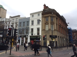 953 SF High Street Shop for Rent  |  2 Bold Street, Liverpool, L1 4DS