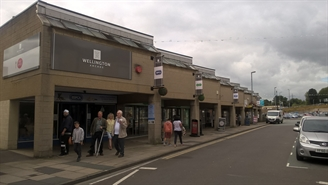 1,130 SF High Street Shop for Rent  |  Wellington Arcade, Brighouse, HD6 1AF