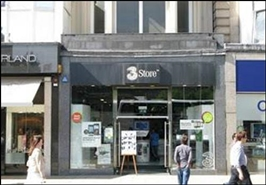 1,032 SF High Street Shop for Rent  |  74 Princes Street, Edinburgh, EH2 2DF