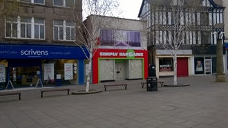 2,601 SF High Street Shop for Rent  |  11 All Saints Square, Rotherham, S60 1PW