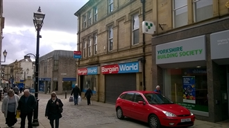 2,454 SF High Street Shop for Rent  |  26 28 Low Street, Keighley, BD21 3PN