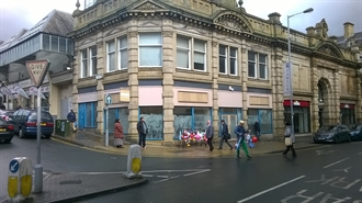 1,065 SF High Street Shop for Rent  |  117/119 Godwin Street, Bradford, BD1 3PP