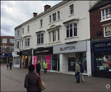 3,904 SF High Street Shop for Rent  |  15 - 16 Gaolgate Street, Stafford, ST16 2BQ