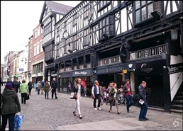 2,838 SF High Street Shop for Rent  |  14 Northgate Street, Chester, CH1 2HA
