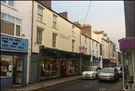 4,486 SF High Street Shop for Sale  |  61 - 65 High Street, Pwllheli, LL53 5RR
