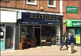 977 SF High Street Shop for Rent  |  33 Cattlemarket, Loughborough, LE11 3DL