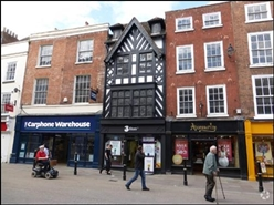 1,164 SF High Street Shop for Rent  |  78 High Street, Worcester, WR1 2ET