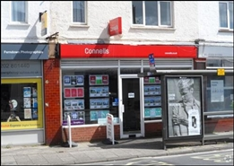 426 SF High Street Shop for Rent  |  22 - 24 Victoria Road, Ferndown, BH22 9HZ