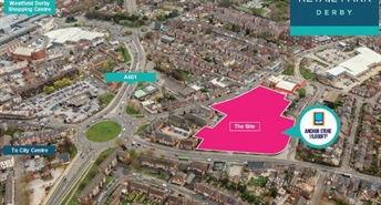 3,700 SF Retail Park Unit for Rent  |  Unit 2, Derby, DE1 2HH