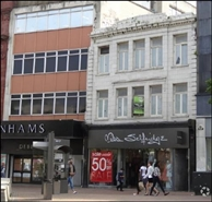 2,813 SF High Street Shop for Rent  |  14 - 14A Commercial Road, Bournemouth, BH2 5LP