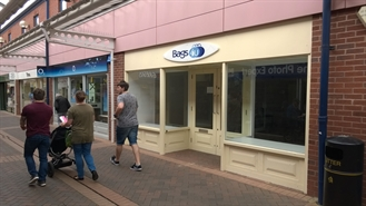 623 SF High Street Shop for Rent  |  Unit 38, Isaac Newton Shopping Centre, Grantham, NG31 6NN
