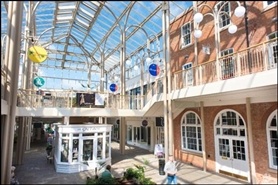 1,192 SF Shopping Centre Unit for Rent | Unit 9, The George Shopping Centre, Grantham, NG31 6LH