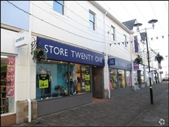 4,600 SF Shopping Centre Unit for Rent  |  Unit 21-22, Carmarthen, SA31 3BN