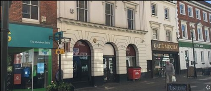 1,684 SF High Street Shop for Rent  |  10 High Street, Banbury, OX16 5DZ