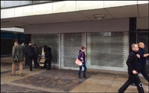 1,341 SF High Street Shop for Rent  |  90 New Street, Huddersfield, HD1 2TR