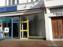 439 SF High Street Shop for Rent  |  Unit B, Hampshire House, Bournemouth, BH2 6DP