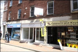 579 SF High Street Shop for Rent  |  Unit 2, Weymouth, DT4 8EJ