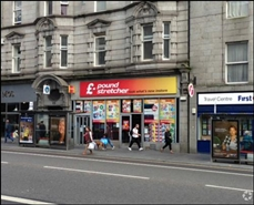 3,431 SF High Street Shop for Rent  |  43 - 45 Union Street, Aberdeen, AB11 5BN