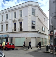 1,659 SF High Street Shop for Rent  |  106 Old Christchurch Road, Bournemouth, BH1 1LR
