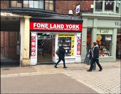 412 SF High Street Shop for Rent  |  17 Coney Street, York, YO1 9QL