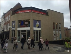 1,549 SF High Street Shop for Rent  |  46 Bridlesmith Gate, Nottingham, NG1 2GP