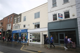 603 SF High Street Shop for Rent  |  14 High Street, Salisbury, SP1 2NW