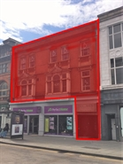 2,164 SF High Street Shop for Rent  |  First Floor, 6-8 Lower Parliament Street, Nottingham, NG1 3DA