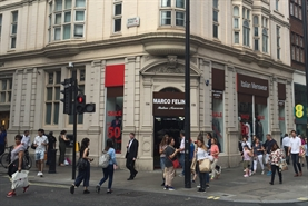 1,173 SF High Street Shop for Rent  |  112-114 OXFORD STREET, London, W1