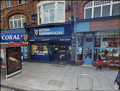 1,104 SF High Street Shop for Rent  |  133 High Street, Acton, London, W3 6LY