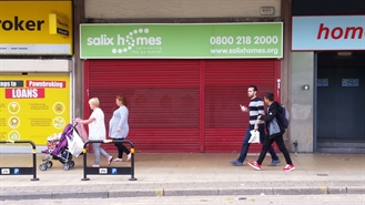 906 SF Shopping Centre Unit for Rent | 45 Hankinson Way Salford Shopping Centre, Salford, M6 5JA