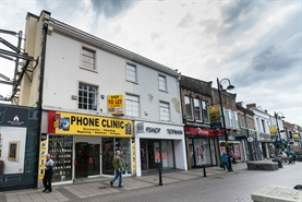 1,649 SF High Street Shop for Rent  |  13 Newgate Street, Bishop Auckland, DL14 7EP