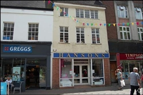 1,201 SF High Street Shop for Rent  |  28 Market Street, Lichfield, WS13 6LH