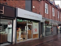 762 SF High Street Shop for Rent  |  64 Grove Street, Wilmslow, SK9 1DS