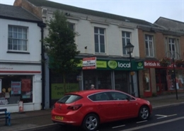 2,084 SF High Street Shop for Rent  |  10 Fore Street, Chard, TA20 1PH