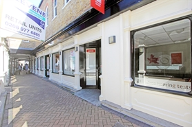 576 SF High Street Shop for Rent  |  1 The Griffin Centre Market Place, Kingston Upon Thames, KT1 1JT