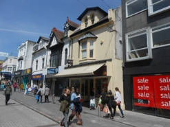 838 SF High Street Shop for Rent  |  47 Union Street, Torquay, TQ1 1ET