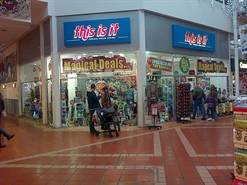 2,398 SF Shopping Centre Unit for Rent  |  Unit 11, Angel Place Shopping Centre, Bridgwater, TA6 3TQ