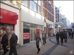 1,322 SF High Street Shop for Rent   85 Broadmead, Bristol, BS1 3DT