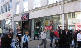 3,065 SF High Street Shop for Rent | 55-57 New George Street, Plymouth, PL1 1RR