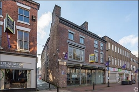 609 SF High Street Shop for Rent  |  53 Ironmarket, Newcastle Under Lyme, ST5 1PE