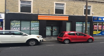 947 SF High Street Shop for Rent  |  Unit 1A, Brighouse, HD6 1NX