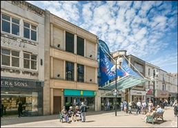 81 SF Shopping Centre Unit for Rent  |  Unit 3, Sovereign Centre, Weston Super Mare, BS23 1HL