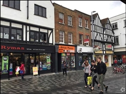 560 SF High Street Shop for Rent  |  30 Market Place, Kingston Upon Thames, KT1 1JH
