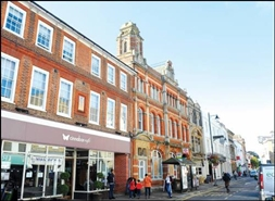 2,562 SF High Street Shop for Rent  |  84 - 86 Fore Street, Hertford, SG14 1AA