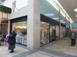 524 SF Shopping Centre Unit for Rent  |  Unit 7 (1 Perpignan Way) St Nicholas Arcades, Lancaster, LA1 1NE