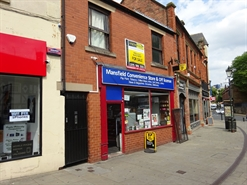 335 SF High Street Shop for Sale  |  35A Church Street, Mansfield, Nottinghamshire, NG18 1AF