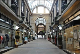 1,758 SF Shopping Centre Unit for Rent  |  The Exchange Arcade, Nottingham, NG1 2DD