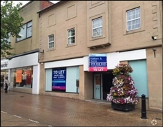 1,521 SF High Street Shop for Rent  |  52 - 54 West Gate, Mansfield, NG18 1RR