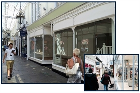 551 SF Shopping Centre Unit for Rent  |  28 - 30 Royal Arcade, Cardiff, CF10 1AE